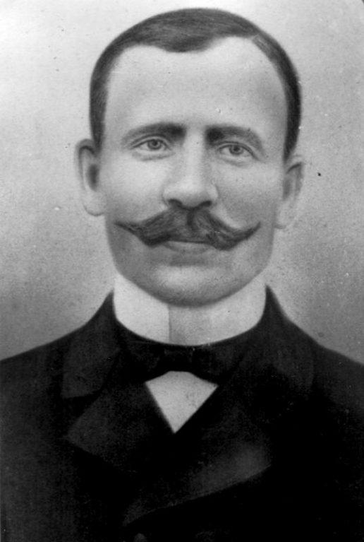 Dominykas Markvaldas. Nuotrauka Žemaičių Naumiesčio muziejaus