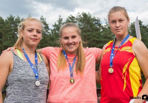Liepos 24 d., Lietuvos lengvosios atletikos jaunimo čempionatas Vilniuje. Nuotraukos Aifredo Pliadžio