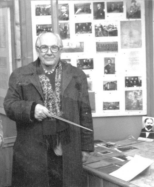 Benediktas Orentas. Stasio Mėlinausko nuotrauka