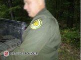 Brakonieriavimu įtariamas miškų urėdijos darbuotojas