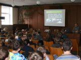 Susitikimuose su moksleiviais – plačiau apie policininko profesiją, studijas ir karjeros galimybes