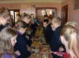 Pyragų diena Vilkyčių pagrindinėje mokykloje