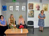 Vydūno viešojoje bibliotekoje – Pagėgių krašto dailininkų atokvėpio valandėlė