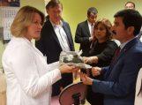 Gydytojų delegacijos iš Alanijos vizitas