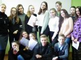 Vilkyčių pagrindinė mokykla dėkoja bendruomenės pareigūnei
