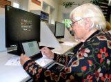 """Vydūno viešojoje bibliotekoje – mokymai """"Skaitmeninės technologijos TAU: ateik, sužinok, išmok"""""""