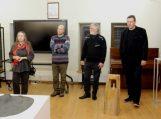 Bibliotekoje – valstybės šimtmečiui skirta skulptūrų paroda