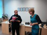 Integruota lietuvių kalbos pamoka Saugų bibliotekoje