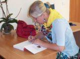 """Literatūrinį rudenį """"Prisijaukinkim žodį, paukštį, debesį' 2012"""" pasitinkant"""