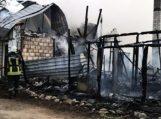 Sudegė daugiavaikės šeimos namas
