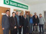 Šilutės sporto mokyklą aplankė Vladas Garastas