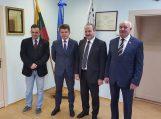 Savivaldybės partnerių iš Ostrudos rajono savivaldybės vizitas