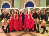 """""""Atėnė"""" šokėjos dalyvavo Baltijos šalių šokių ir dainų festivalyje"""