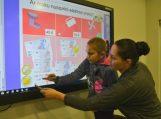 Bibliotekoje – interaktyvus-mokomasis rytmetis vaikams