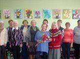 Degučiuose pristatyta Ramutės Šveikauskienės tautodailės darbų paroda