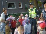Policininkai mokė vaikus saugaus elgesio
