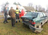 Sankryžoje lenkti mėginęs klaipėdietis nubloškė besisukantį automobilį