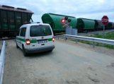 Pleinių kaime traukinys suvažinėjo ant bėgių prigulusį vyrą