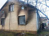 Balčiuose name sprogo dujos, apdegė du žmonės