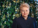 Lietuvos Respublikos Prezidentės Dalios Grybauskaitės sveikinimas šalies žmonėms Šv. Kalėdų proga