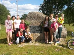 Pažintinė išvyka prie Martyno Mažvydo paminklo