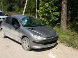 Avarijoje sudaužė brolio automobilį