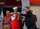 Geriausios žuvienės virimo čempiono žiedą meras užmovė saviems