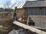 Gaidelių kaime statybose žuvo darbininkas