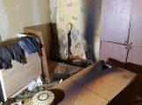 Antrą kartą padegė namą