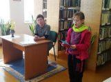 Traksėdiškiai susitiko su vaikų rašytoja Nijole Kepeniene
