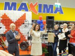 """Duris atvėrė trečia """"Maxima"""" parduotuvė"""