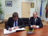 Lietuvos nepaprastojo ir įgaliotojo ambasadoriaus Ukrainoje vizitas Šilutėje