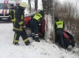 Avarijoje žuvo jauna vairuotoja