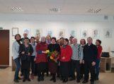 Laimutės Fišeraitės-Bočkienės akvarelės darbų paroda pristatyta Saugų bibliotekoje