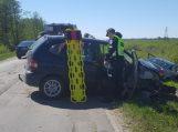 Visus lenkęs girtas vairuotojas sukėlė avariją