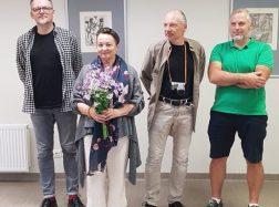 Menininkas Eduardas Juchnevičius – ir mūsų žemėje pėdą įmynęs