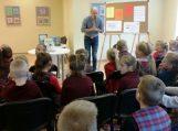 Smagios dirbtuvės su vaikų rašytoju Virgiu Šidlausku