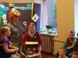 """Šiaurės šalių literatūros """"akademija"""" Juknaičių mokyklos bibliotekoje"""