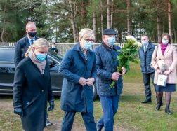 Macikuose apsilankė LR Premjerė Ingrida Šimonytė