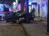 Agresyvaus vairuotojo sulaikymui prireikė tarnybų pagalbos