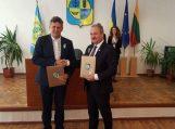 Pasirašyta bendradarbiavimo sutartis su Skadovskio miestu