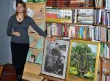 Piktupėnų filiale – poetės, dailininkės, pedagogės Linos Ambarcumian kūrybos vidudienis