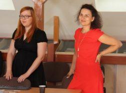 """Bibliotekoje pristatytos Europos Sąjungos  programos """"Erasmus+"""" galimybės"""