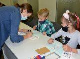 Pagėgių bibliotekoje – kūrybiniai užsiėmimai vaikams
