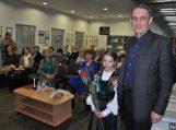 Pagėgių bibliotekoje – apie kraštus ir žmones su dr. Arvydu Juozaičiu
