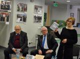 Pagėgių bibliotekoje – susitikimas su diplomatu, profesoriumi Alfonsu Eidintu