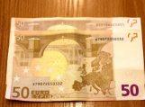 Pareigūnai įspėja: apyvartoje vėl pasirodė netikri eurai
