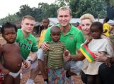 E. Petrauskas besilankantis Siera Leonėje: Niekada nenorėčiau, kad mano vaikas bent panašiai augtų