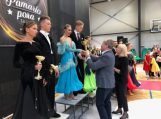 """Įvyko sportinių šokių konkursas """"Pamario pora 2019"""""""