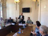 Lietuvos mokslų akademijoje įvyko mokslininkų ir Savivaldybės vadovų diskusija apie potvynio keliamas grėsm